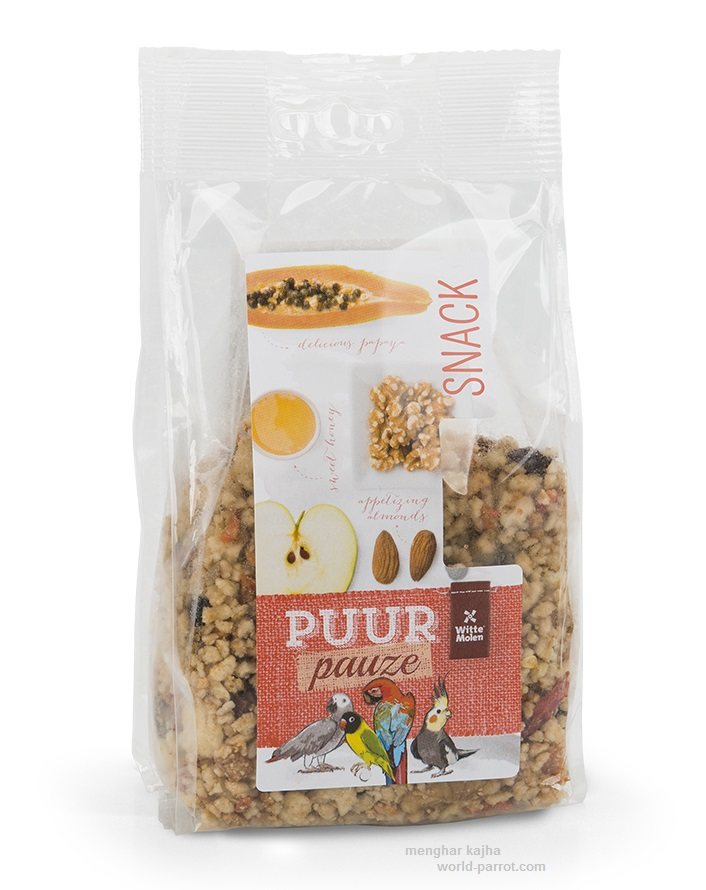 Puur Fruit & Nut Crumble For Large Birds